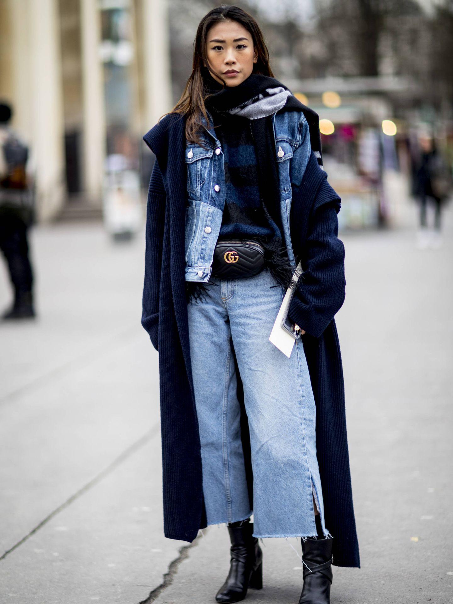 Capa a capa lograrás un outfit como este.  (Imaxtree)