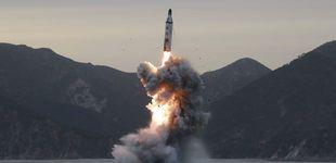Post de Corea del Norte lanza un misil no identificado