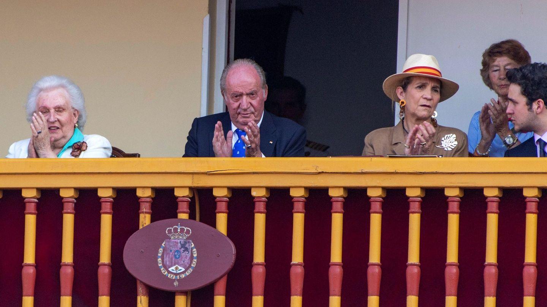 El rey Juan Carlos, en su último compromiso público. (EFE)