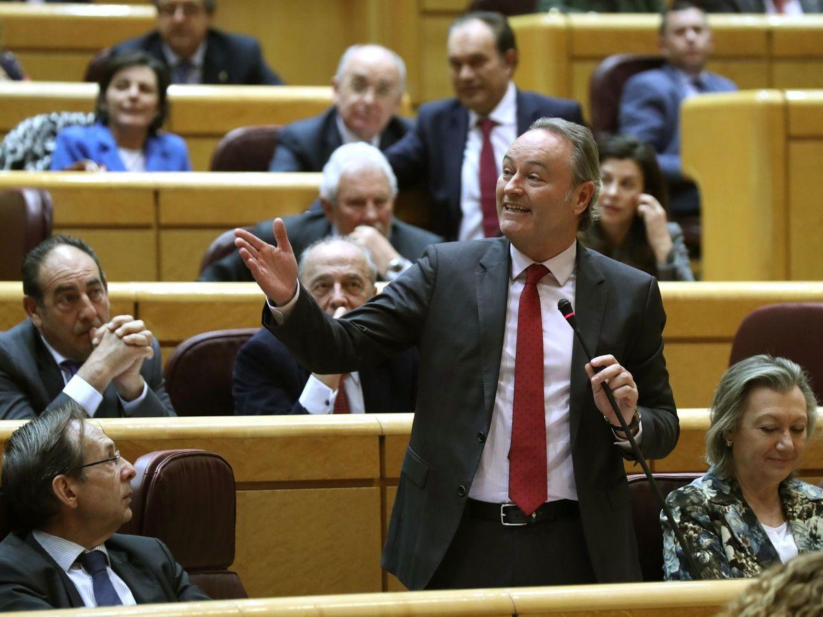 Foto: El senador y 'expresident' de la Generalitat Alberto Fabra. (EFE)