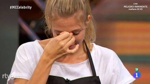 Patricia Montero llora al cocinar una cabeza de cerdo en 'MasterChef'