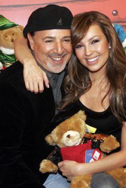 Foto: Thalía espera su primera hija con el ex de Mariah Carey