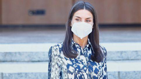 La reina Letizia elige a Victoria Beckham para arrancar una semana muy intensa