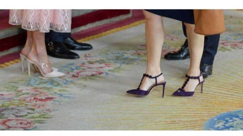 Zapatos de la Reina y de Soraya. (Limited Pictures)