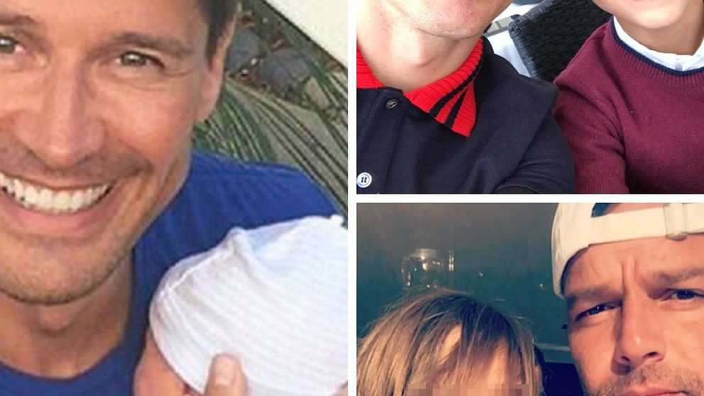 Miguel Bosé, Ricky Martín, Kiko Hernández... Otros tipos de familias