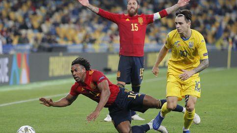 España apabulla a Ucrania, pero se encuentra con la primera derrota de Luis Enrique (1-0)