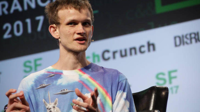 Vitalik Buterin, durante un evento de Techcrunch (Techcrunch)