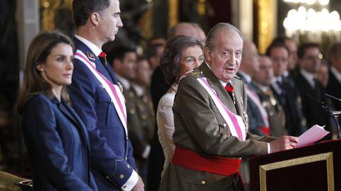 El Rey pedía austeridad al Ejército mientras movía su fortuna opaca
