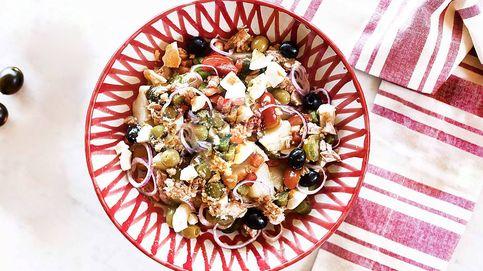 Así se hace una ensalada campera perfecta: puro sabor a huerta