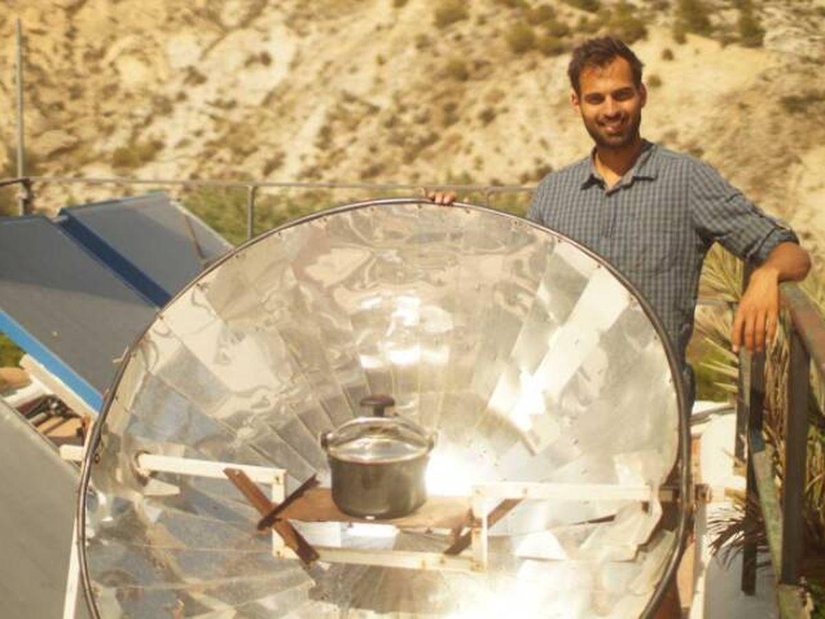 Foto: Puesta en práctica de uno de los proyectos de Sunseed Desert Technology. Foto: Sunseed Desert Technology