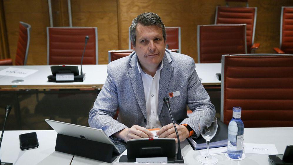 Foto: El secretario de Finanzas de Ciudadanos, Carlos Cuadrado. (EFE)