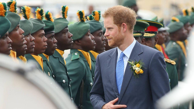 Foto: El príncipe Harry durante su visita a Barbados (Gtres)