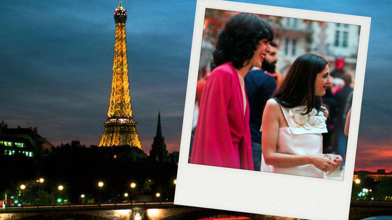 Brianda Fitz-James y Espido Freire, dos 'it girls' en la noche parisina