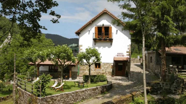 El hotel rural Besaro, tan navarro.