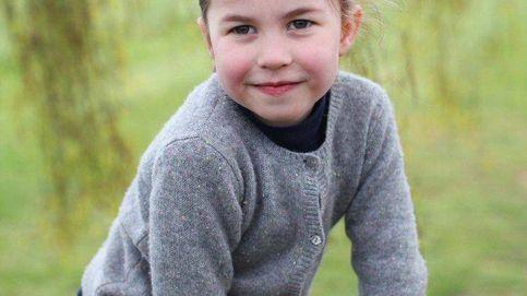 La princesa Charlotte, retratada como nunca antes habías visto, por su madre