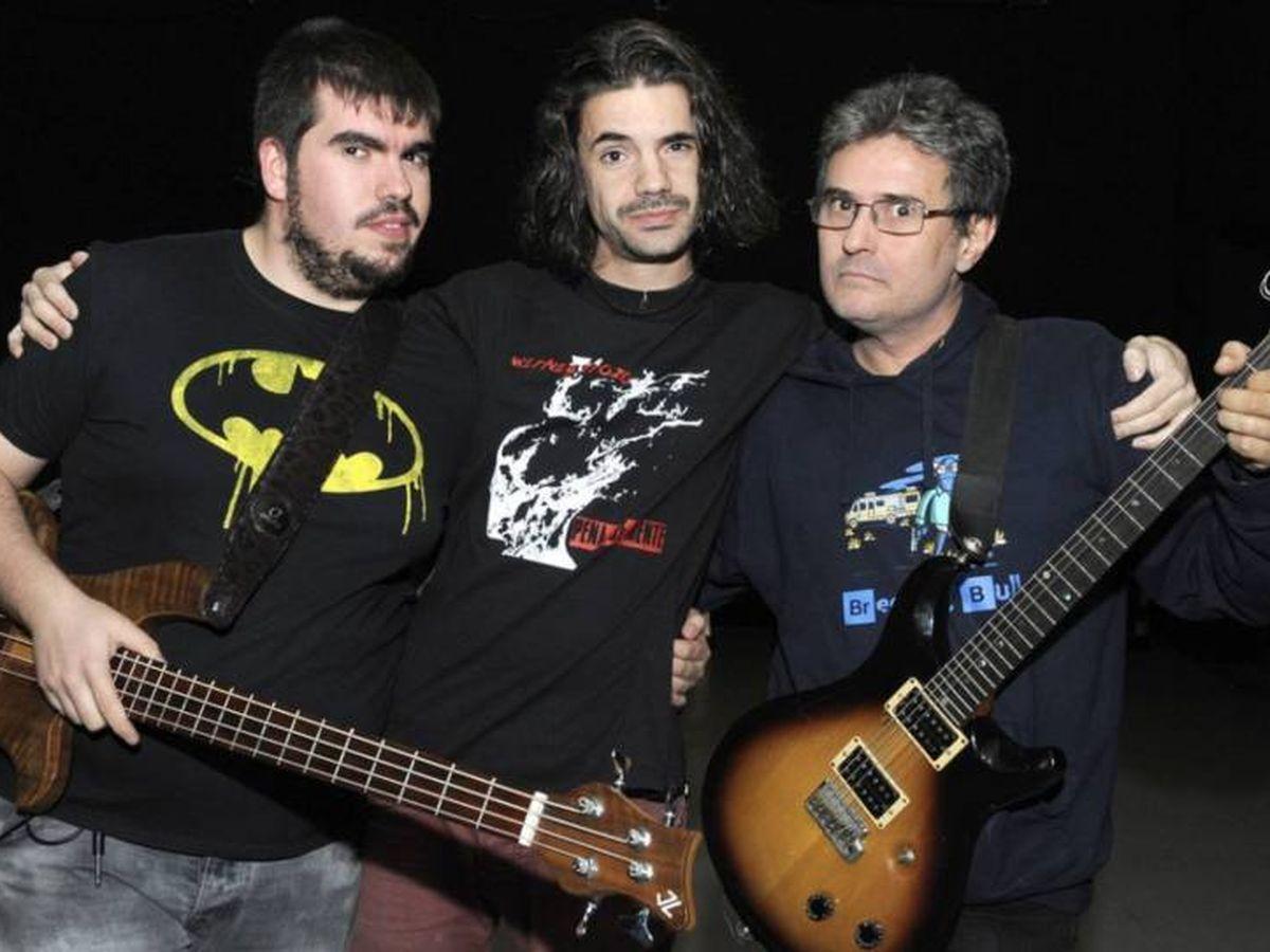 Foto: Mamá Ladilla (Juan Abarca es el primero por la derecha)