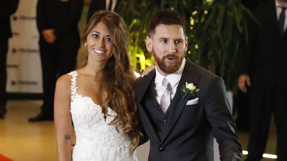 Matrimonio De Messi : Bodas de famosos analizamos detalle a el vestido