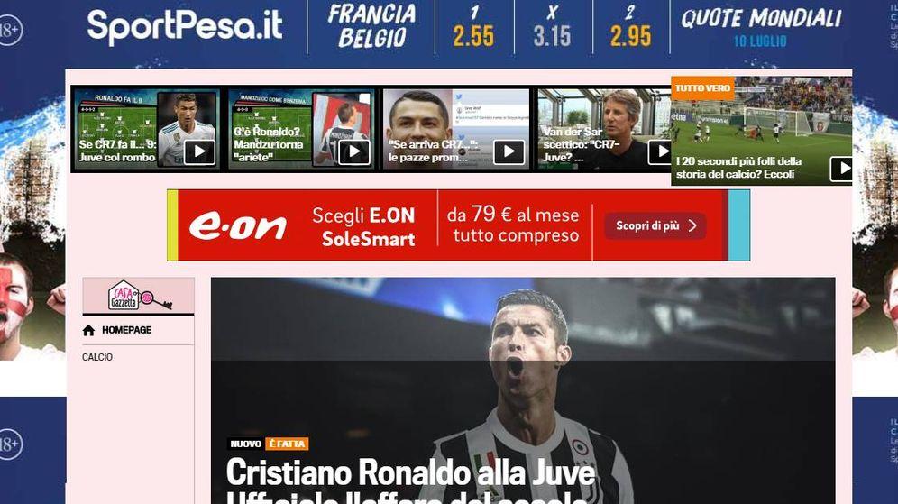 Foto: La Gazzetta dello Sport.