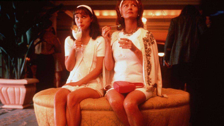 Con Susan Sarandon en la película de 1999 'Anywhere but here'. (Getty)