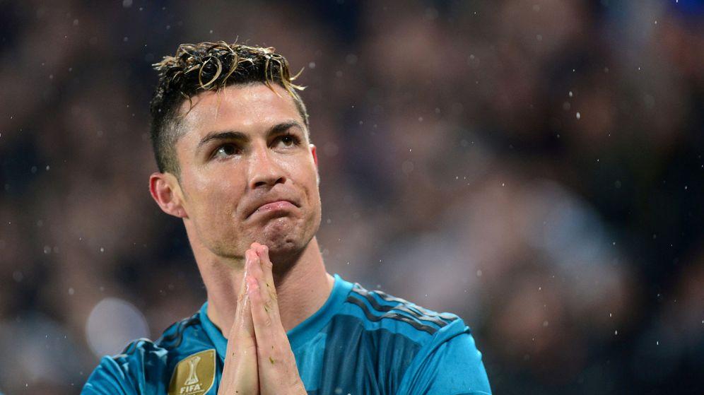 Foto: Cristiano Ronaldo tras su chilena en el Juventus Stadium. (Reuters)