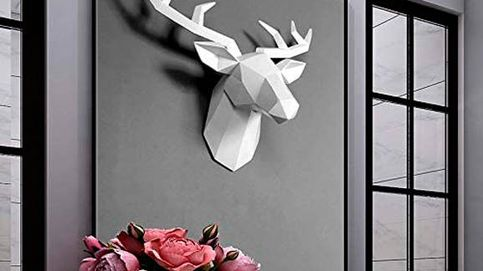 Cabezas decorativas, la nueva tendencia que arrasa para decorar tus paredes