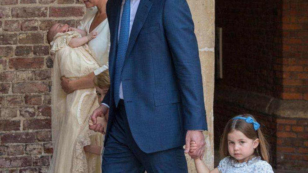 La reprimenda viral de Charlotte a los periodistas en el bautizo de Louis