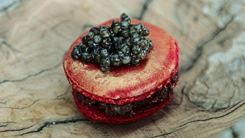 Delicatesen de caviar.