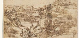 Post de La obra que demuestra que Leonardo Da Vinci no era zurdo, sino ambidiestro