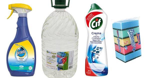 Productos de higiene para desinfectar y limpiar bien toda la