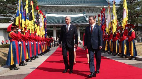El rey Felipe de Bélgica visita Corea del Sur