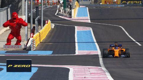 Alonso en el Grand Prix de Fórmula 1
