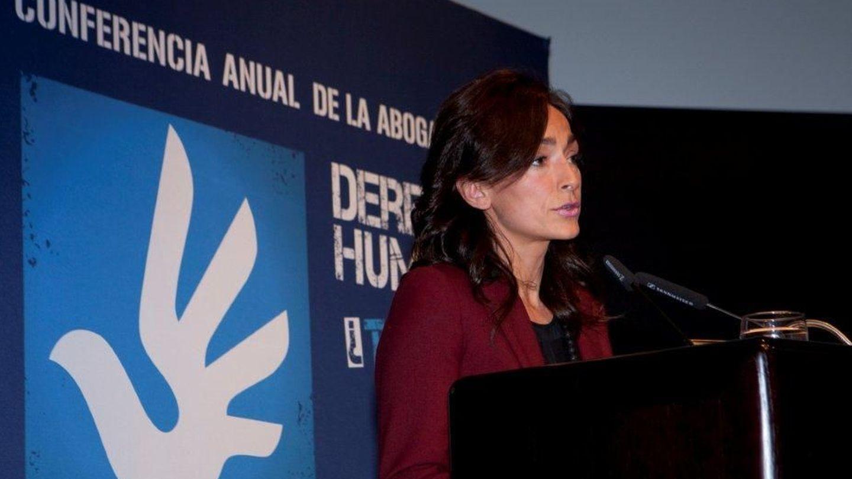 Lourdes Reyzábal en los Premio Derechos Humanos (Fundación Raíces)