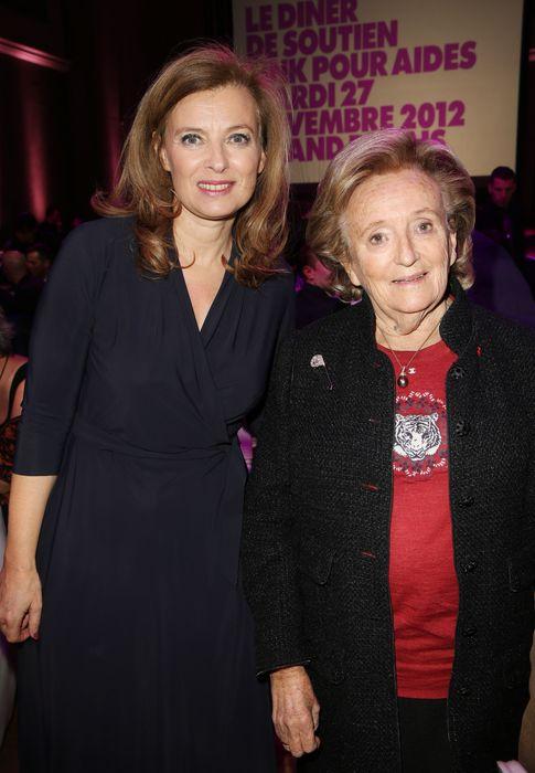 Foto: Valerie Trierweiler y Bernadette Chirac en 2012 en una imagen de archivo (I.C.)