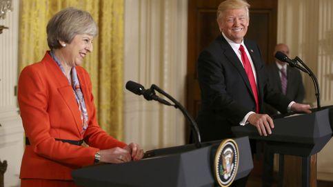 Trump y May se prometen fidelidad más allá de la OTAN