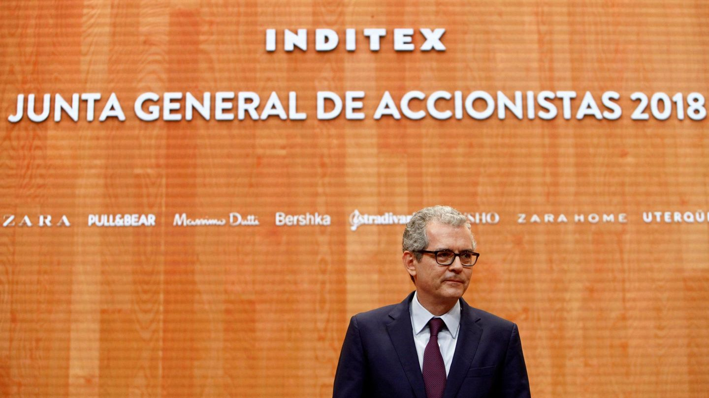 El presidente ejecutivo de Inditex, Pablo Isla. (EFE)
