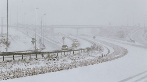 Estas son las carreteras cortadas por nieve y las que necesitan cadenas