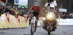 Post de La valentía de Contador se le queda corta por dos segundos en la París-Niza
