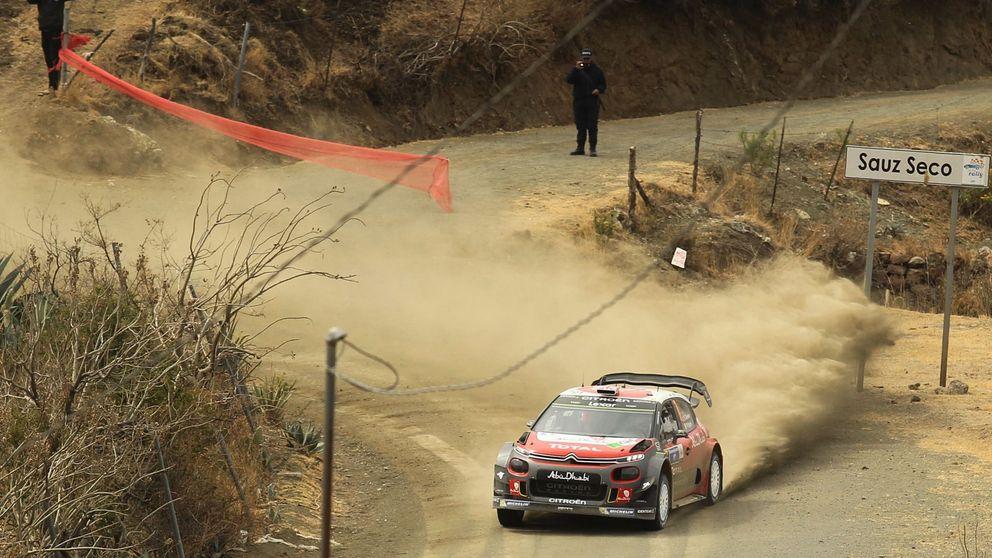La surrealista victoria en el Rally de México... tras 'perderse' en un parking