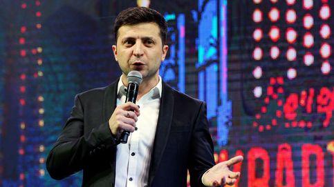 El cómico Zelenski luchará por la presidencia de Ucrania tras ganar la primera vuelta