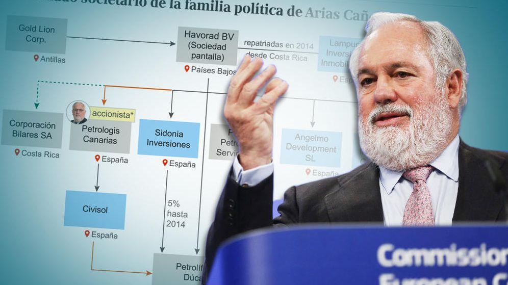 Foto: Miguel Arias Cañete presidió y tuvo acciones de dos petroleras investigadas.