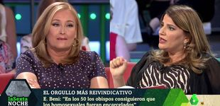 Post de Bronca entre Elisa Beni y María Claver por la presencia de Cs en el Orgullo