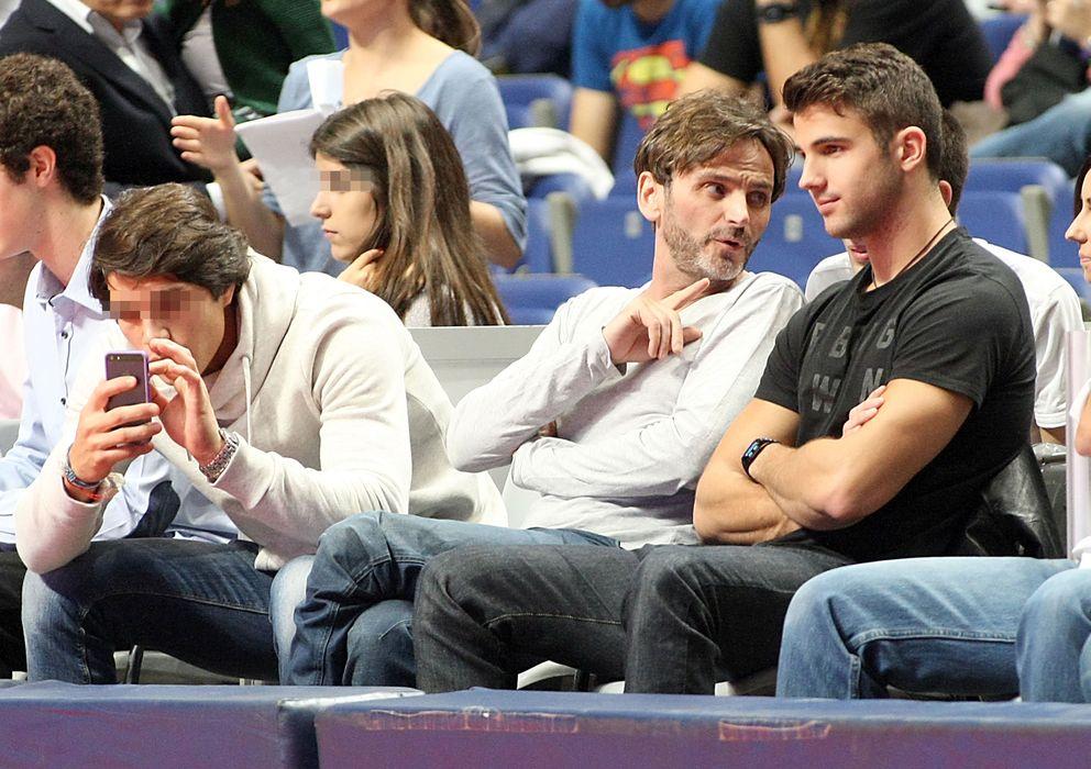 Foto: Fernando tejero junto a miguel ortiz, durante un partido de la acb (i.c.)