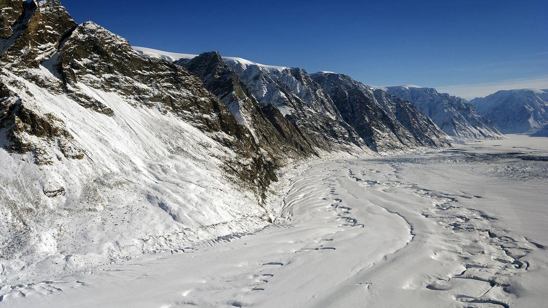 El retroceso de los glaciares es un bioindicador de cambio climático. (EFE)