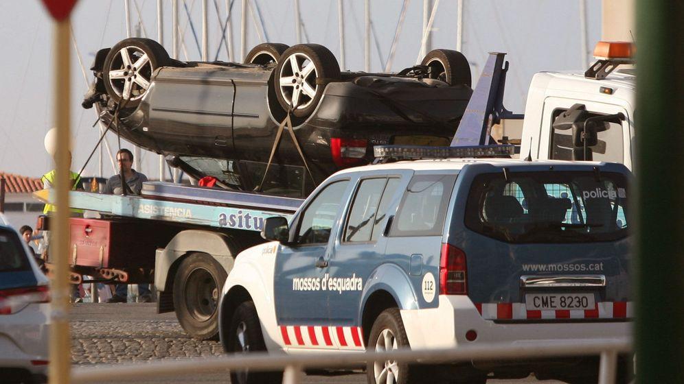 Foto: El Audi utilizado en Cambrils. (EFE)