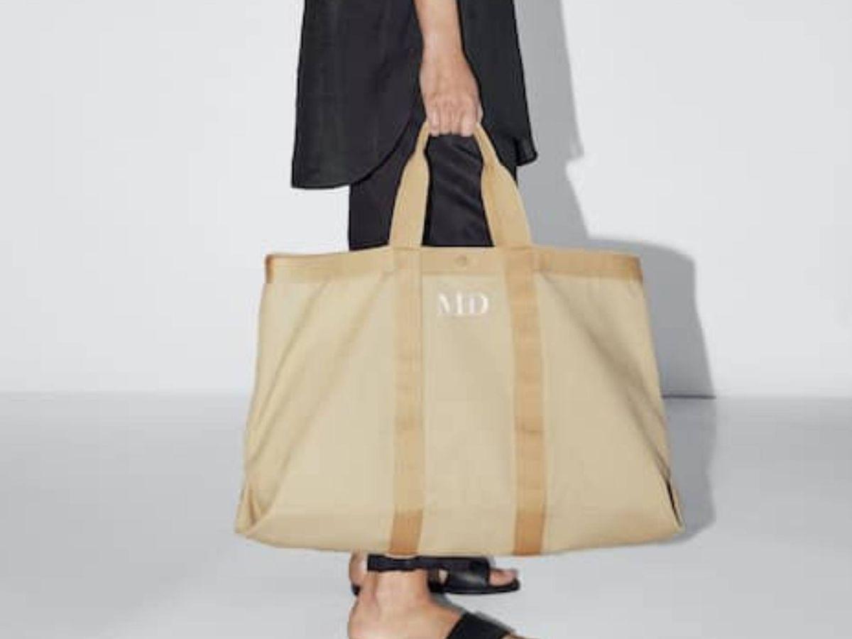 Foto: El bolso de Massimo Dutti. (Cortesía)