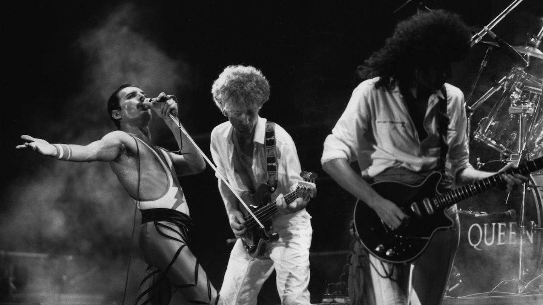 Queen en directo (Getty)