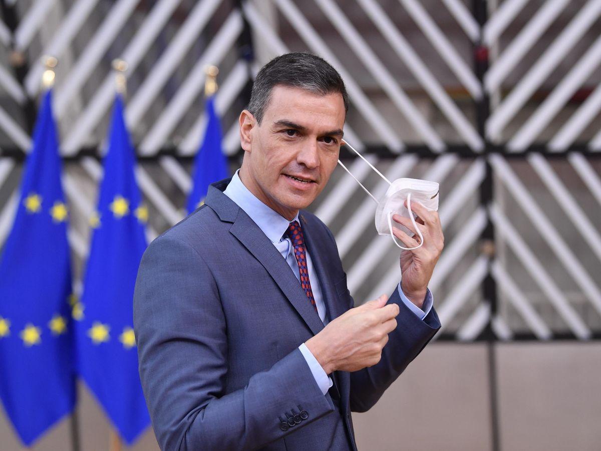 Foto: Pedro Sánchez, en Bruselas. (EFE)