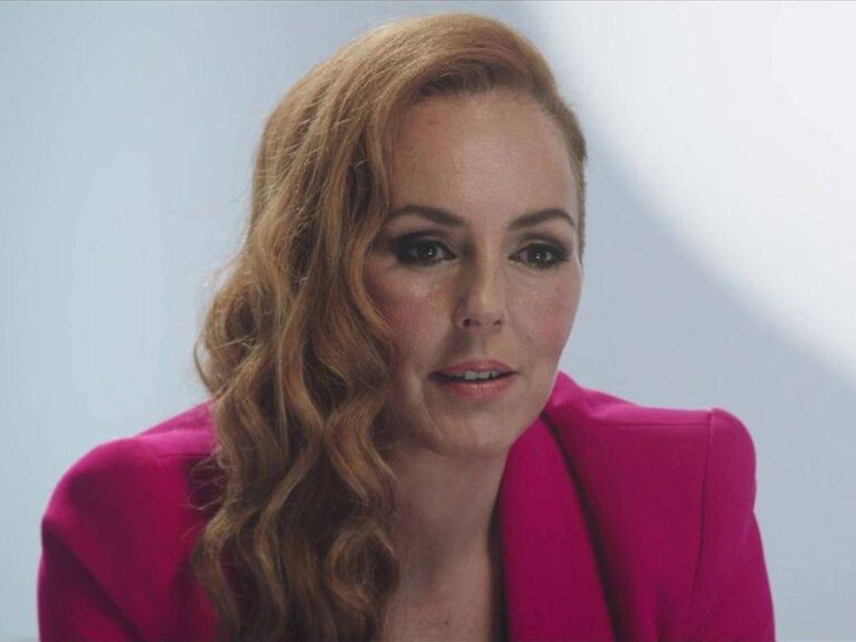 Foto: Rocío Carrasco, durante la emisión del programa. (Mediaset)