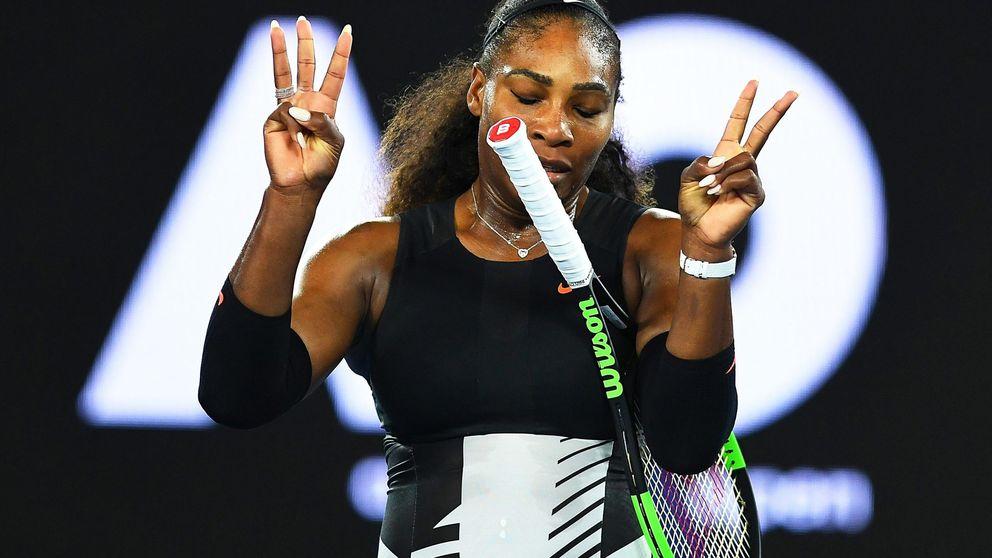 El tenis trata un embarazo como si fuera lesión: la vuelta cuesta arriba de Serena