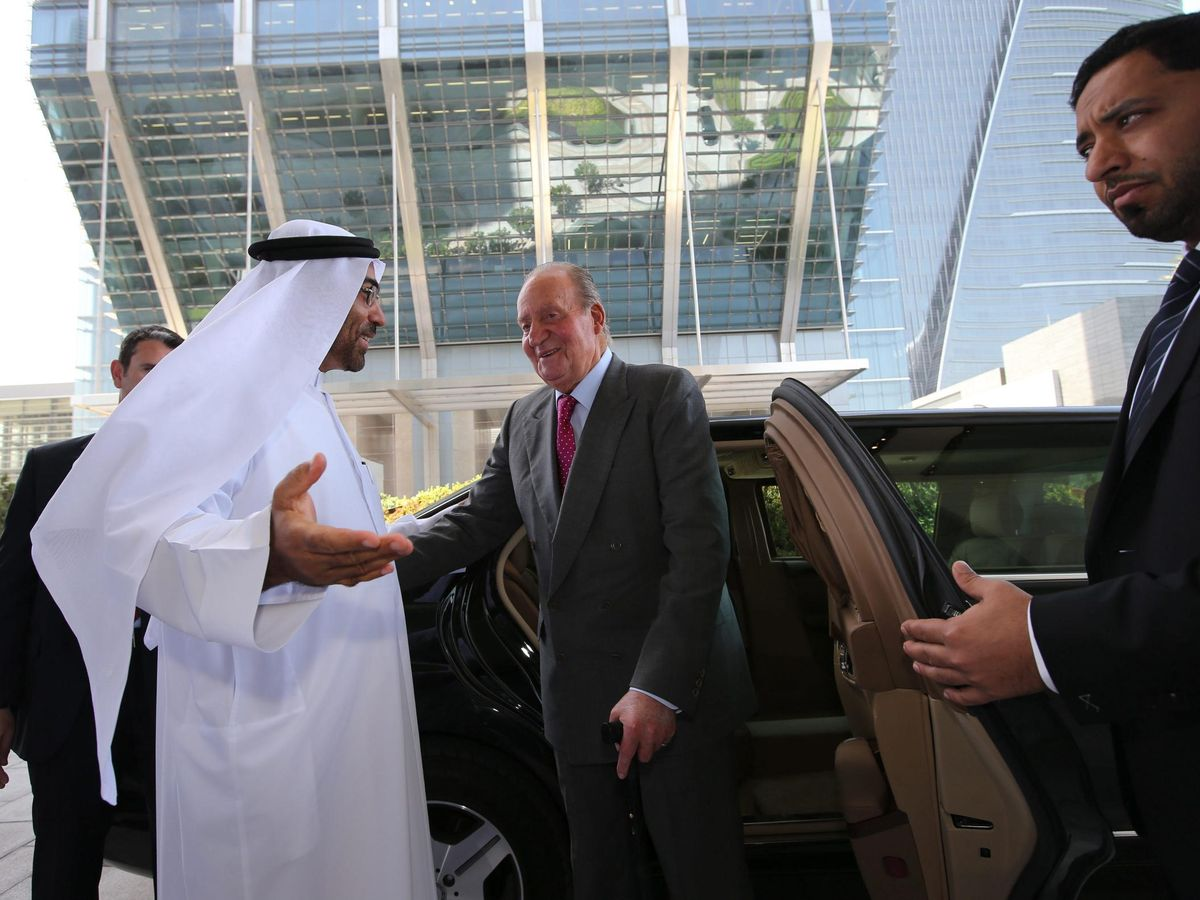 Foto: Foto de archivo del Rey emérito, Juan Carlos I, en una visita a Abu Dabi. (EFE)